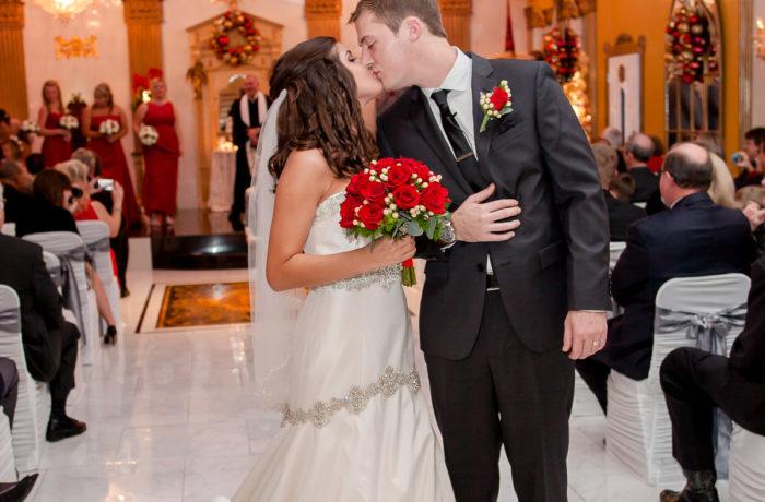 Sightler Wedding Kiss